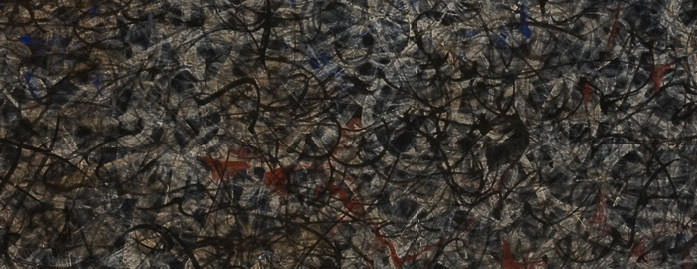 Mark Tobey – Pacific Drift (detail), 1959-1962.|© 2009 Estate of Mark Tobey / Artists Rights Society (ARS), New York